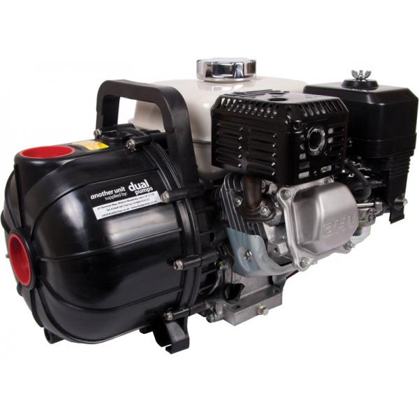 Polyester self-priming petrol engine pump