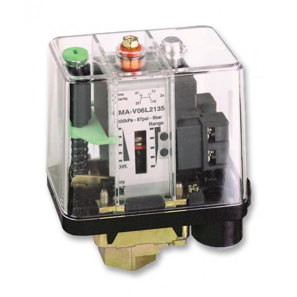 Telemecanique differential pressure switch