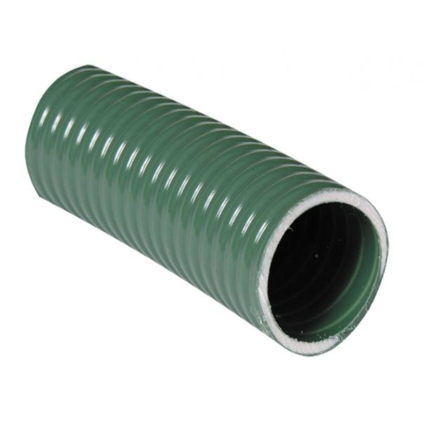 Green medium duty suction / delivery hose - full coil