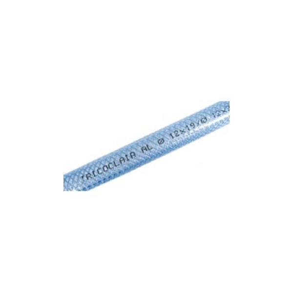 Tricoclair PVC clear food grade reinforced hose - cut length