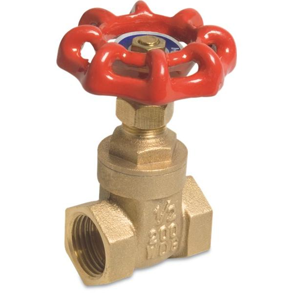Brass mega gate valve type 201 - screwdown