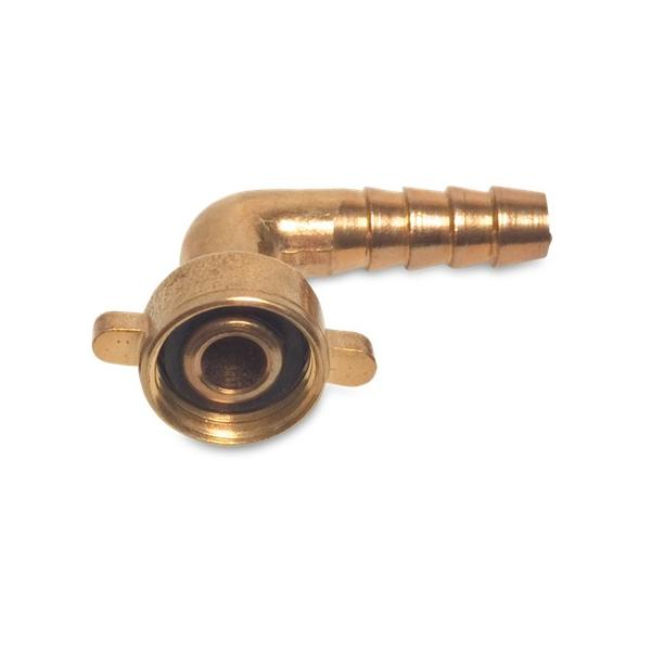 2/3 90degree Brass Hose Tail