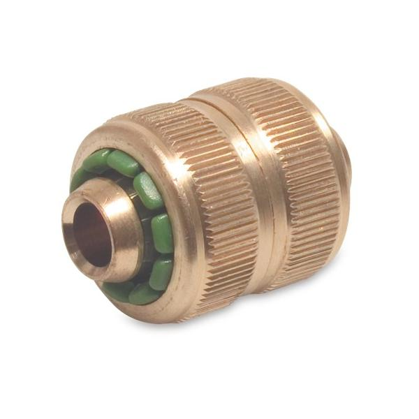 Hoselock type repair coupling (Brass)