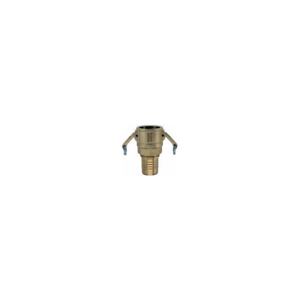Ludecke mortar hose coupling with hose stem (full passage)