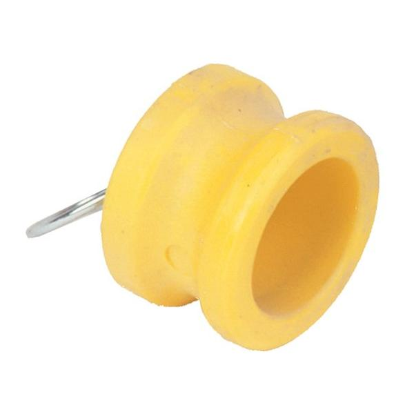 Nylon camlock fittings - Adaptor blanking plug part DP