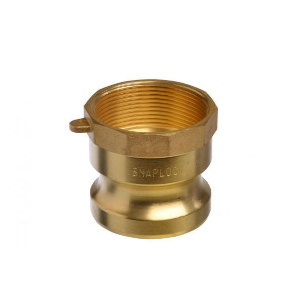 Brass Snaplock fittings - Female threaded adaptor part A