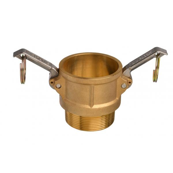 Brass Snaplock fittings - Male threaded coupler part B