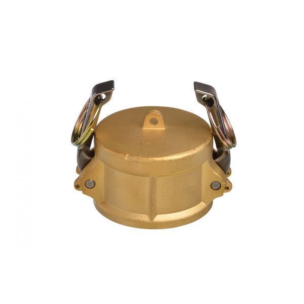 Brass Snaplock fittings - Coupler blanking cap part DC