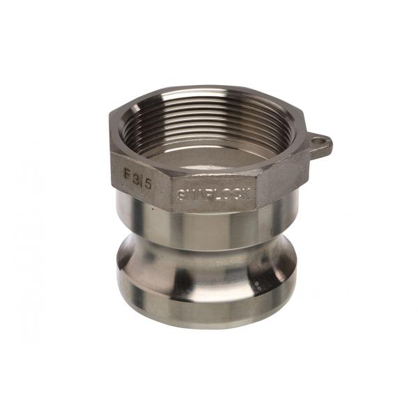 Stainless Steel Snaplock fittings - Female threaded adaptor part A