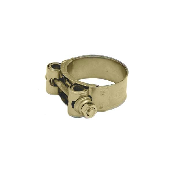 Mikalor Super Gold bolt clamp - BZP band with BZP bolt