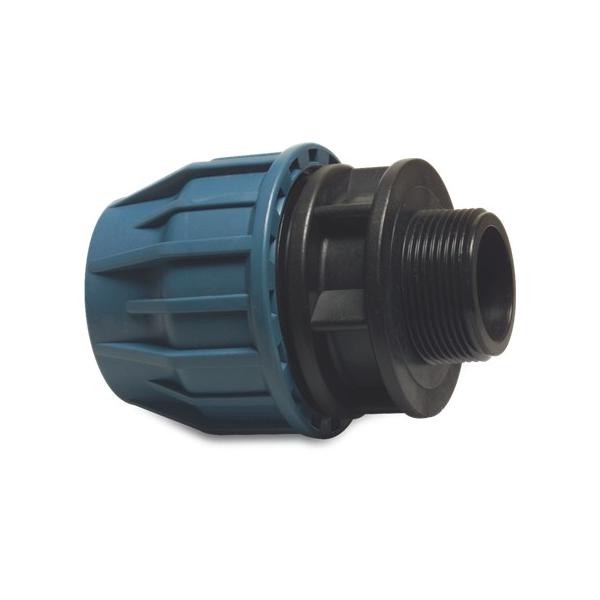 Male Threaded Adaptor (polyethylene)