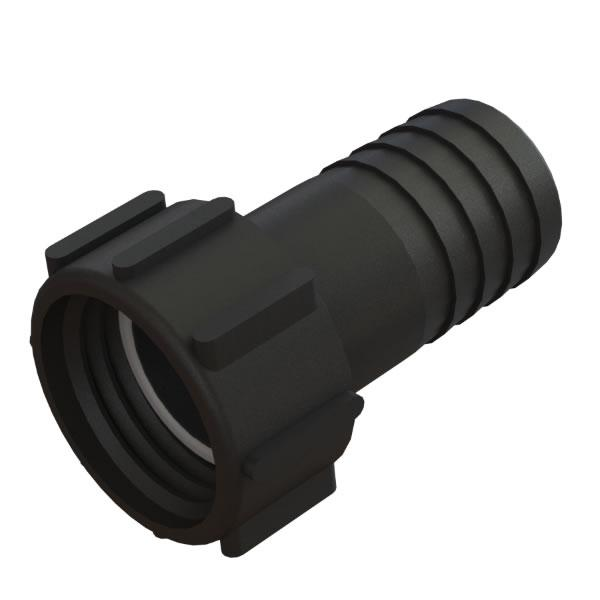S60x6 IBC Female hose tail adaptor