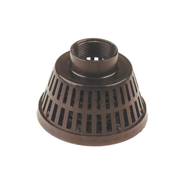 Polyester basket foot filter