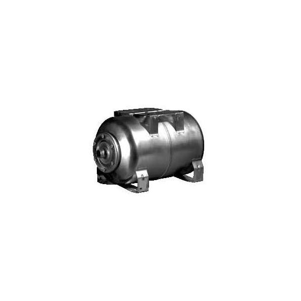Lowara Zilmet horizontal Stainless Steel Pressure Vessel (with stainless flange)