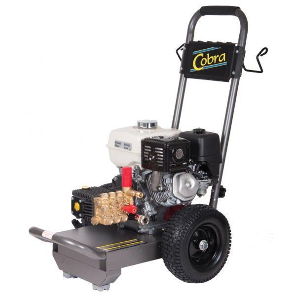 Cobra Petrol Pressure Washer with wheels