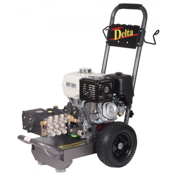 Delta Petrol Pressure Washer with wheels (Medium Duty)