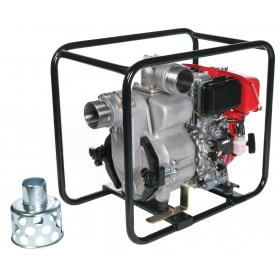 Tsurumi TED trash duty Honda engine pump with oil alert