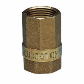 Eurostop Non Return Valve - brass