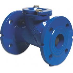 Flanged ball retaining valves