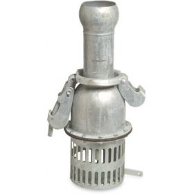 Bauer type foot valve