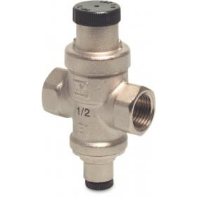 Light duty adjustable pressure regulating valve