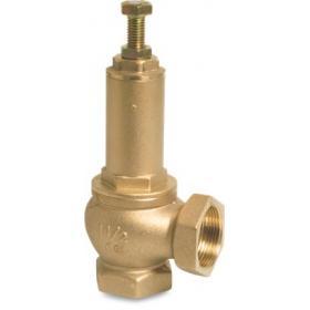 Adjustable pressure relief valve, type 1421