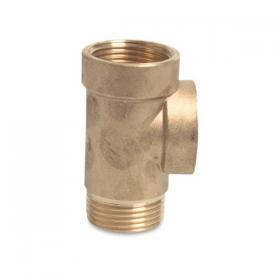 Brass multi gauge connector