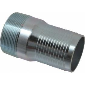 Steel Plated Barbed / Threaded Fittings