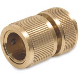 Hoselock type female click x hose compression (Brass)