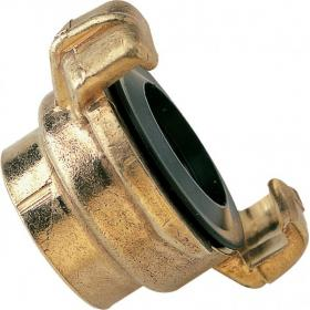 Geka coupler with female thread
