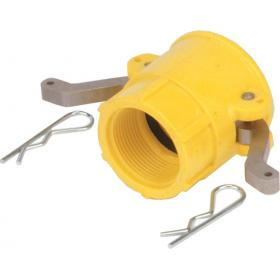 Nylon camlock fittings - Female threaded coupler part D