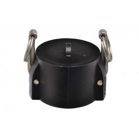 Polypropylene Snaplock fittings - Coupler blanking cap part DC