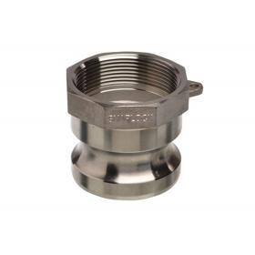Aluminium Snaplock fittings - Female threaded adaptor part A