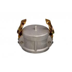 Aluminium Snaplock fittings - Coupler blanking cap part DC