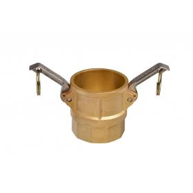 Brass Snaplock fittings - Female threaded coupler part D