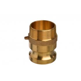 Brass Snaplock fittings - Male threaded adaptor part F