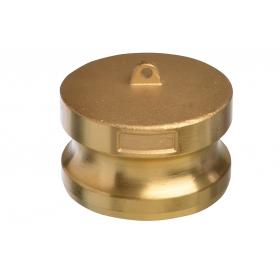 Brass Snaplock fittings - Adaptor blanking plug part DP
