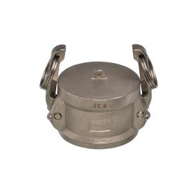 Stainless Steel Snaplock fittings - Coupler blanking cap part DC