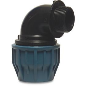 90degree Male Thread X Adaptor (polyethylene)