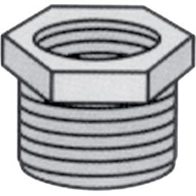 Nylon threaded reducing bush (male - female)