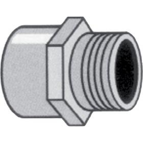 Nylon female - male threaded coupling
