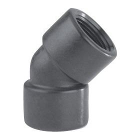 Reinforced Polypropylene Female Elbow 45 degree