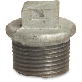 Galvanized Threaded Plugs and Caps