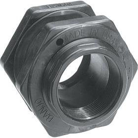 TF series threaded bulkhead fitting